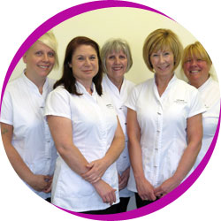 The team of staff at Rainford Orthodontics in St Helens